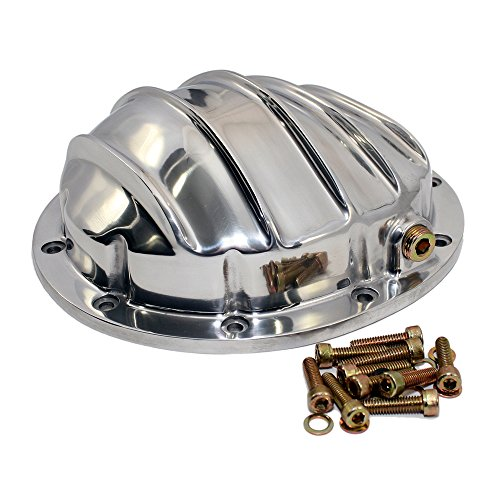 Assault Racing Products A5078 GM 10 Bolt 8.5in Ring Gear Polished Aluminum Rear Differential ()