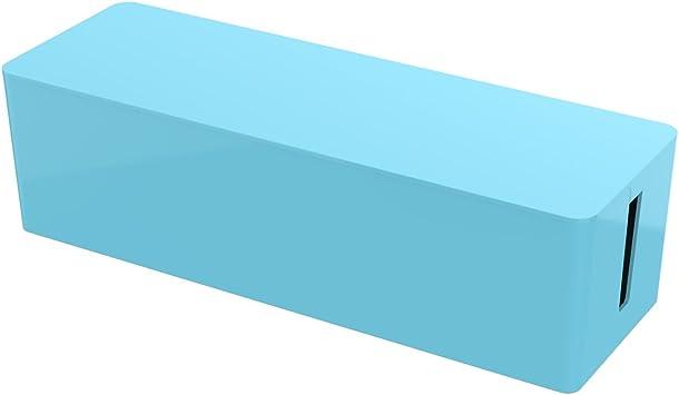 ORICO® Caja para Cables, Sistema de organizado de cableado, Caja de almacenaje para Cables de regletas, Cables adaptadores de CA, líneas cargadas, Cables USB HUB- Azul(PB3218): Amazon.es: Electrónica