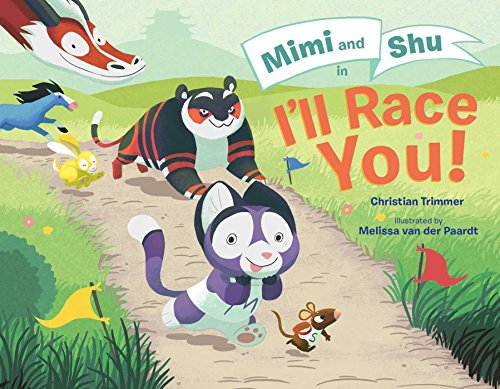 Ethnic Trimmer - Mimi and Shu in I'll Race You!