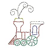 ProductWorks 60-Inch Pro-Line 280 LED Light-Up Animotion Toy Train Christmas Decoration