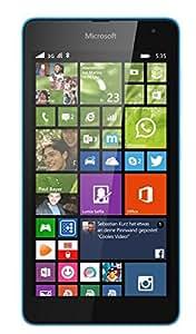 Microsoft Lumia 535 8GB Cian - Smartphone (SIM doble, Windows Phone, MicroSIM, EDGE, GSM, WCDMA, Micro-USB B)
