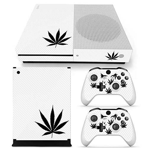 GoldenDeal Xbox One S Console and Wireless Controller Skin Set - Weed 420 - XboxOne S Vinyl