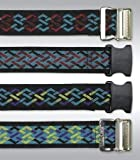 Nylon Cleanable Gait Belt BLUE - METAL BUCKLE by Skil-Care