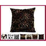 Coussin déhoussables motif animal girafe 40x40 W018