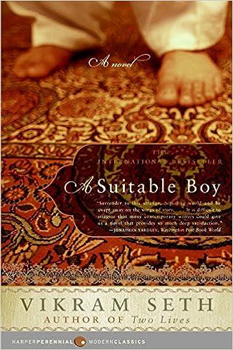 A Suitable Boy A Novel Modern Classics Seth Vikram Books