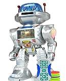 Inside Out Toys Robot téléguidé lumineux qui lance le frisbee, danse, parle et marche