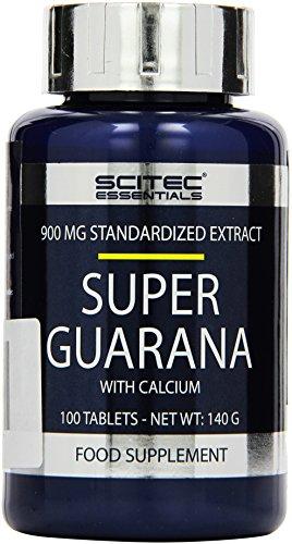 Scitec Nutrition Super Guarana 100 Tabletten, 1er Pack (1 x 140 g)
