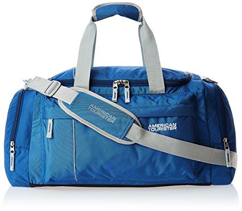 American Tourister Nylon 55 cms Blue Travel Duffle (40X (0) 01 008)