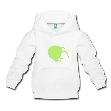 Spreadshirt Kiwi Vogel Schnepfenstrauß Kinder Premium Hoodie