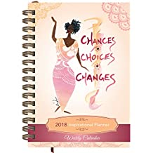 Shades of Color Weekly Inspirational African American Planner: Chances, Choices, Changes (IP08)