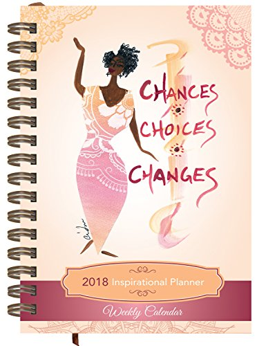 Search : Shades of Color Weekly Inspirational African American Planner: Chances, Choices, Changes (IP08)