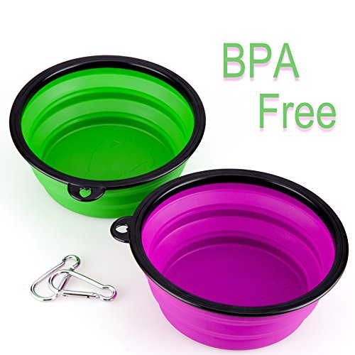 Collapsible-Silicone-Pet-Bowl-IDEGG-Food-Grade-Silicone-BPA-Free-Foldable-Expandable-Cup-Dish-for-Pet-DogCat-Food-Water-Feeding-Portable-Travel-Bowl