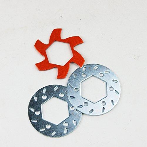 Hpi Brake Disk - Brake Disk Fin Plate Rotor for HPI Rovan King Motor Baja 5B SS