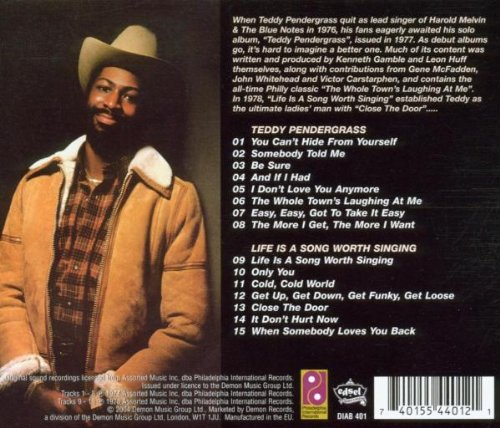 Teddy Pendergrass/Live Is a Song Worth Living