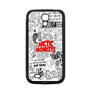 High By Quality a Customizable interventions Durable Rubber Material Arctic Monkeys Samsung they Galaxy S4 Back Cover Case