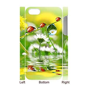 YCHZH Phone case Of Translucent Gradual Color Raindrops 1 Cover Case For Iphone 5C