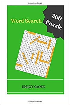 Word Search 360 Puzzle Books Word Finds: word search book adults large print puzzles game (Volume 1)