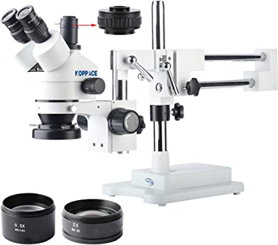 KOPPACE KP-0.3X Stereo Microscope Assisted Objective Lens 48mm Working Distance to287mm 0.3X Microscope Lens.