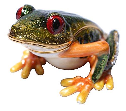 Cristiani Collezione Red Eye Frog Trinket Box