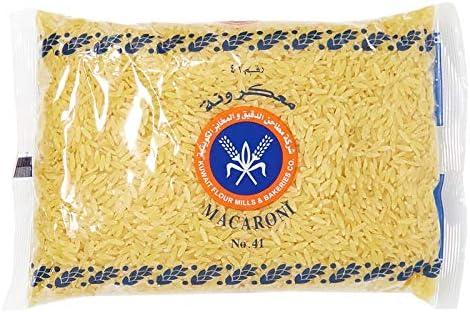 Kuwait Flour Mills & Bakeries Co  Orzo Pasta - 500 gm: Amazon com