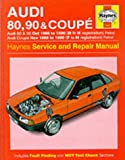 Audi 80, 90 and Coupe 1986-90 Service and Repair Manual (Haynes Service and Repair Manuals)