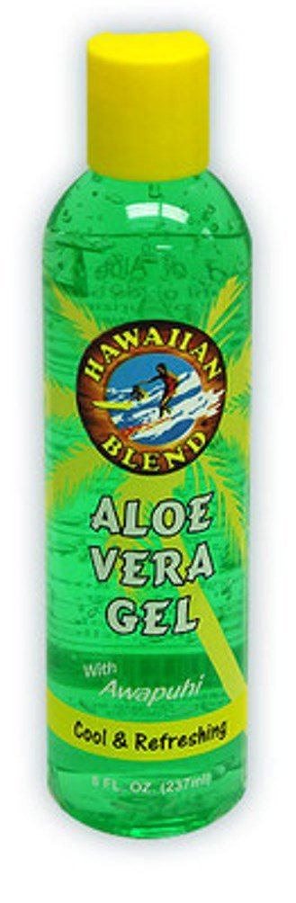 Hawaiian Blend Aloe Vera Gel with Awapuhi 4 Pack 8 oz. Each