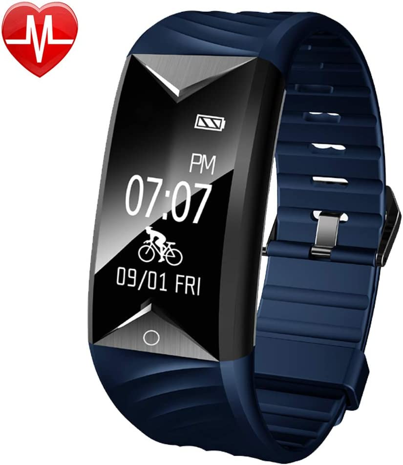 Willful Fitness Tracker with Heart Rate Monitor, Fitness Watch Activity Tracker,IP67 Waterproof Step Counter Calories Sleep Monitor Cycling Tracker Vibration Alarms,Pedometer Watch for Men