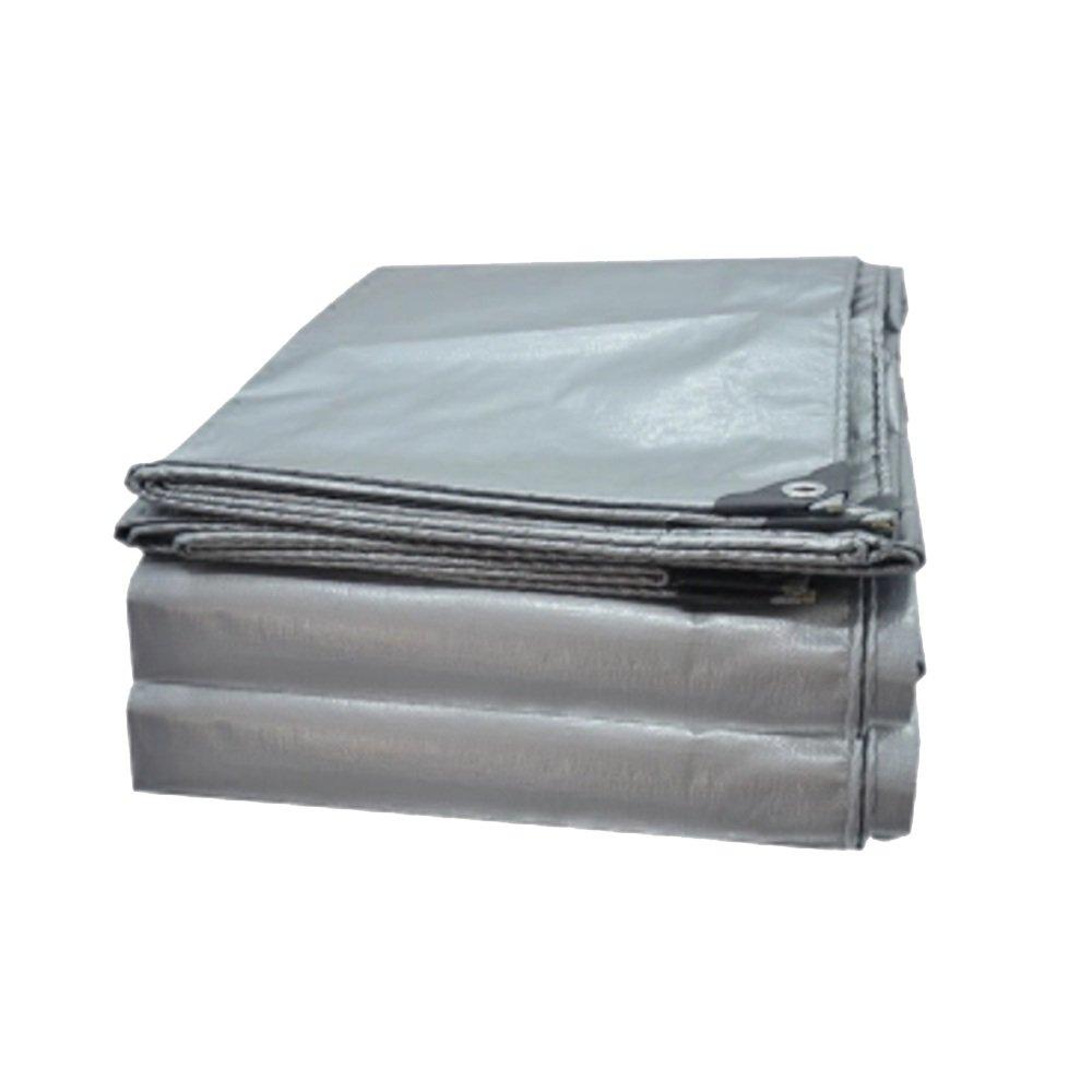 NAN liang 厚い雨布防水布プラスティック布サンプロテクションクロスサンプロテクションターポリントラフタリントリシラン雨天 アウトドア (サイズ さいず : 8 * 12m) 8*12m  B07JG2FV9Q