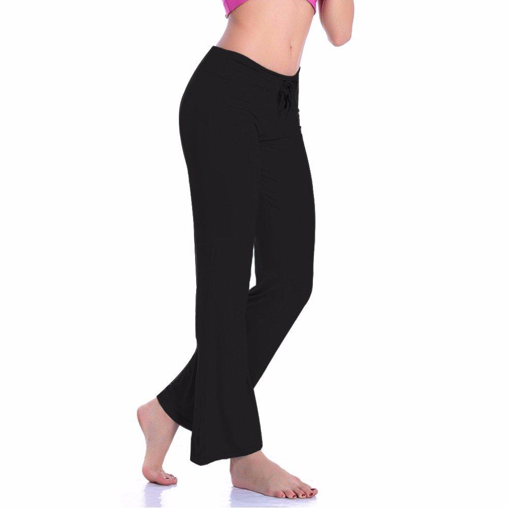 CFR Women's Harem Yoga Pants High Waist Soft Modal Lycra Fitness Leggings For Sports Dancing Black,M UPS Post by CFR (Image #5)