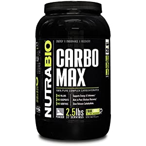 NutraBio CarboMax Maltodextrin Unflavored (2.5 Pounds)