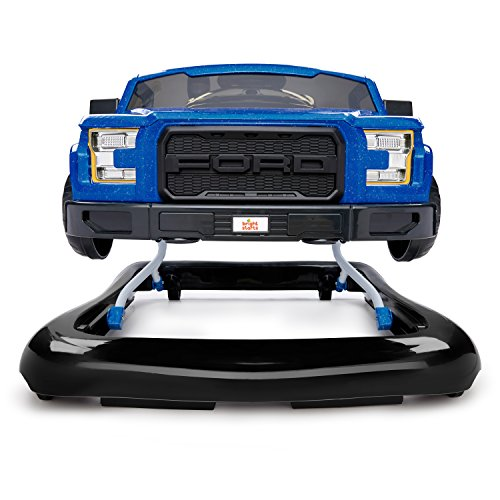 51F39gnTawL - Bright Starts 3 Ways to Play Walker - Ford F-150 Raptor, Lightning Blue, Ages 6 months +