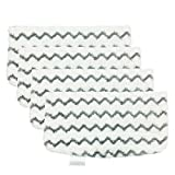 Beacozofu 4 Pack Vacuum Steam Cleaner Mop Replacement Pads for Shark Steam Mop Cleaner S1000A