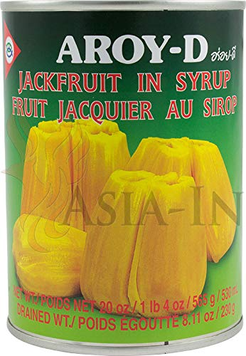 AROY-D Jackfruit In Syrup 565g alloy Dee jack fruit syrup [Parallel import] by Aroy-D