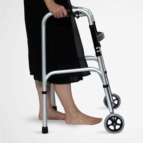 WZB - Silla de Ruedas para discapacitados Bastón para Caminar ...