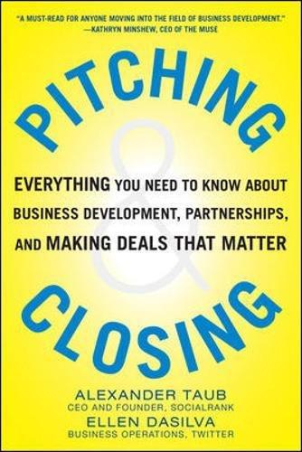 Pitching Closing Everything Development Partnerships product image