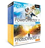 Software : Cyberlink PowerDirector 17 and PhotoDirector 10 Ultra