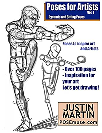 Poses for Artists - Dynamic & Sitting: An essential