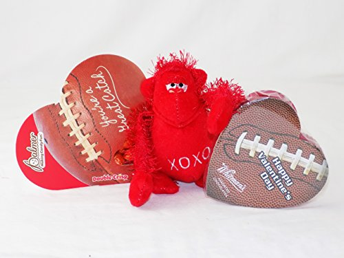 'Perfect for the Boys!' Sports Themed Valentine Gift Pack (Football) (Sports Themed Gift Baskets For Kids)