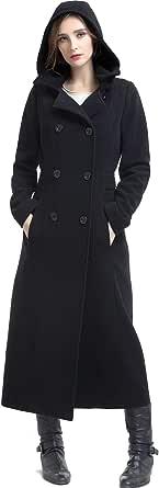 BGSD Women's Mariel Wool Blend Hooded Long Coat (Regular & Plus Size & Petite)