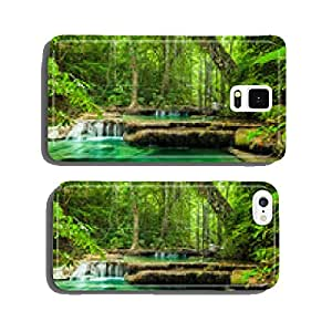 Erawan waterfall. cell phone cover case Samsung S6