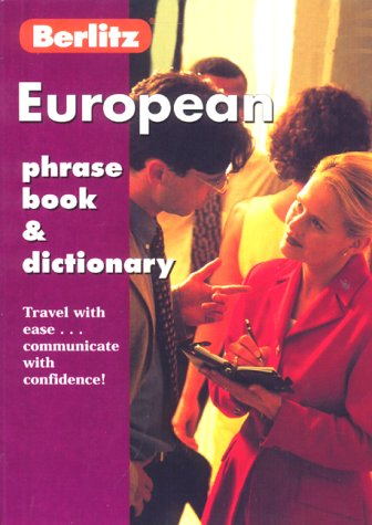 European Phrase Book & Dictionary (Berlitz Phrase Books)