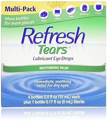 Refresh Tears Lubricant Eye Drops, Moisture Drops for Dry Eyes