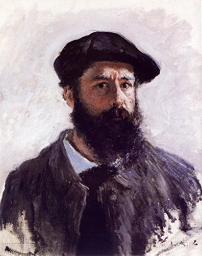- Claude Monet Self Portrait with Beret 1886 Painting Art Mural Giant Poster 36x54 inch