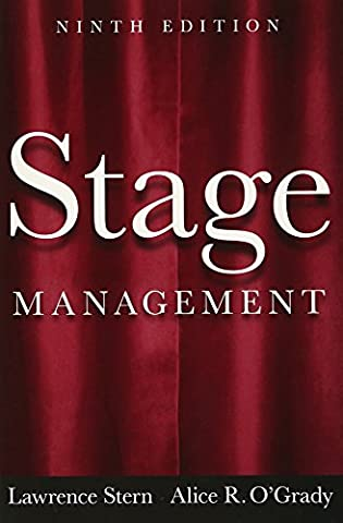 Stage Management (9th Edition) (Stage Management Lawrence Stern)