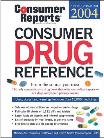 Download Consumer Drug Reference 2004 PDF, azw (Kindle)