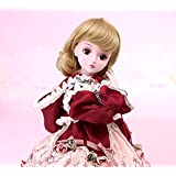 Funnybuy 1/3 BJD Dolls SD Doll 19 Joints with All Clothes Outfit Shoes Wig Hair Makeup for Girl Gift and Dolls Collection Molly