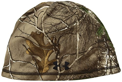 Under Armour Men's Scent Control Storm Fleece Beanie, Realtree Ap-Xtra (946)/Black, One Size (White Camo Under Armour Hat)