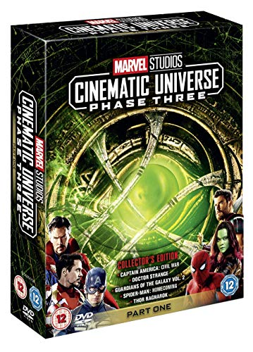 Edition Dvd Box - Marvel Studios Collector's Edition Box Set - Phase 3 Part 1 [DVD] [2018]