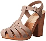 Dolce Vita Women's Avaya Fisherman Sandal, Almond, 6.5 M US