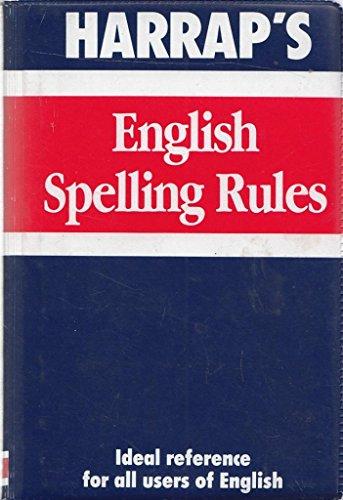 Harrap's English Spelling Rules (Mini study aids)